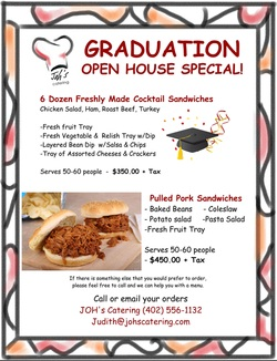 omaha catering graduation